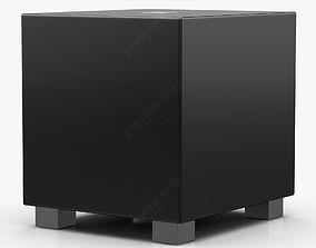 REL Tzero Gloss Piano Black 3D model
