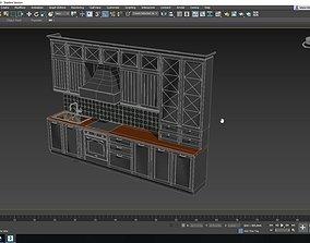 Portofino Kitchen 3D asset