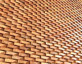 Lattice Brick-03-PBR Material-2K-4K Texture 3D