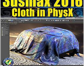 041 3ds max 2016 Cloth PhsyX vol 41 cd front