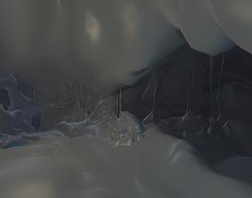 3D model Fantasy Cave