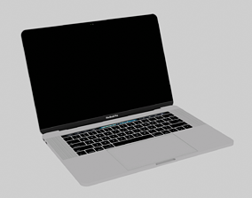 Apple Macbook Pro 3D model technology