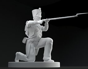 3D printable model French Armee Soldier