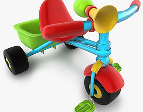 3D model Trycicle toy