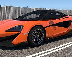 3D model McLaren 600LT