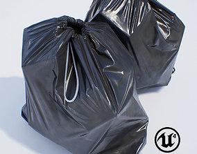 3D asset Garbage Bag - PBR Game-Ready