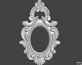 Frame for mirrors or pictures - 3d model for CNC