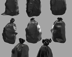 3D Collection Garbage bags v3