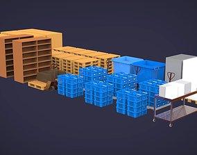 Warehouse equipment 3D model