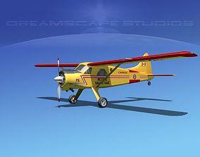 Dehaviland DH-2 Beaver RCAF 3D