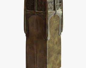 gustav gurschner metal vase 3D model