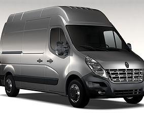 Renault Master L2H3 Van 2010 3D