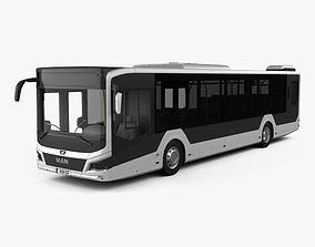 3D MAN Lions City Bus 2018