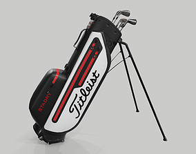 3D Titleist StaDry Golf Bag Plus