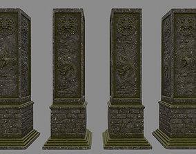column 3D asset
