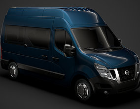 Nissan NV 400 L2H3 Minibus 2020 3D model
