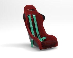 Bride Zeta Racing Seat 3D model