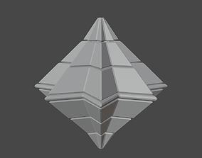 Symetric Pyramidal Structure 3D asset