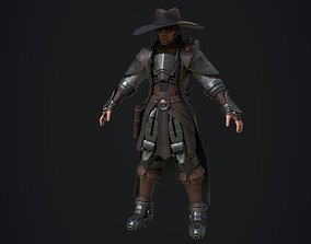 3D asset Cowboy