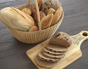 3D model Bread Basket