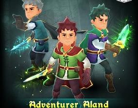 3D asset Adventurer Aland