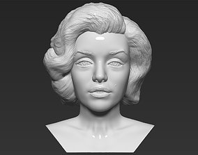 Marilyn Monroe bust 3D printing ready stl obj