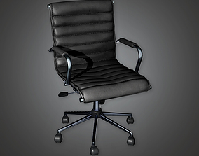 3D model Bank Chair 2 BHE - PBR Game Ready