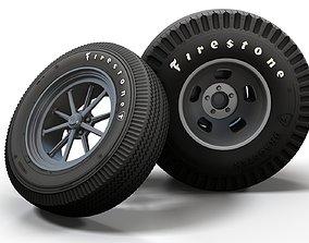 Hot Rod Gasser wheels 3D