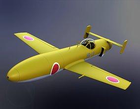 Yokosuka MXY7 Ohka 3D Model