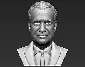 Richard Nixon bust 3D printing ready stl obj