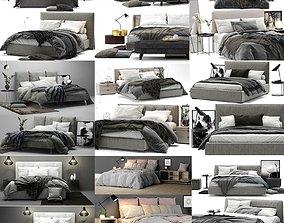 Colection Bed - 10 models 3D