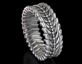 Exclusive ring for stylish people 3D print model