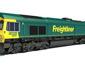 3D British Rail Class 66