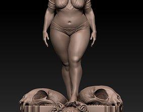 Goddess sign of lion sculpted by rlucenas 3D print model