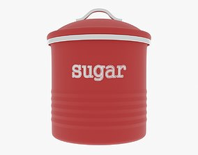 3D model Sugar Canister