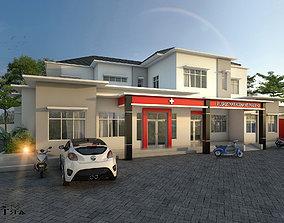 3D Hospital or healt center