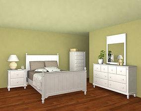 Bedroom Furniture 06 Set 3D model