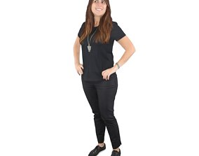 3D No480 - Female Standing