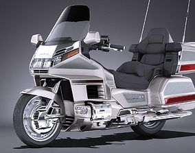 Honda Gold Wing 1500 1999 3D