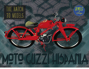 3D Moto Guzzi Hispania model