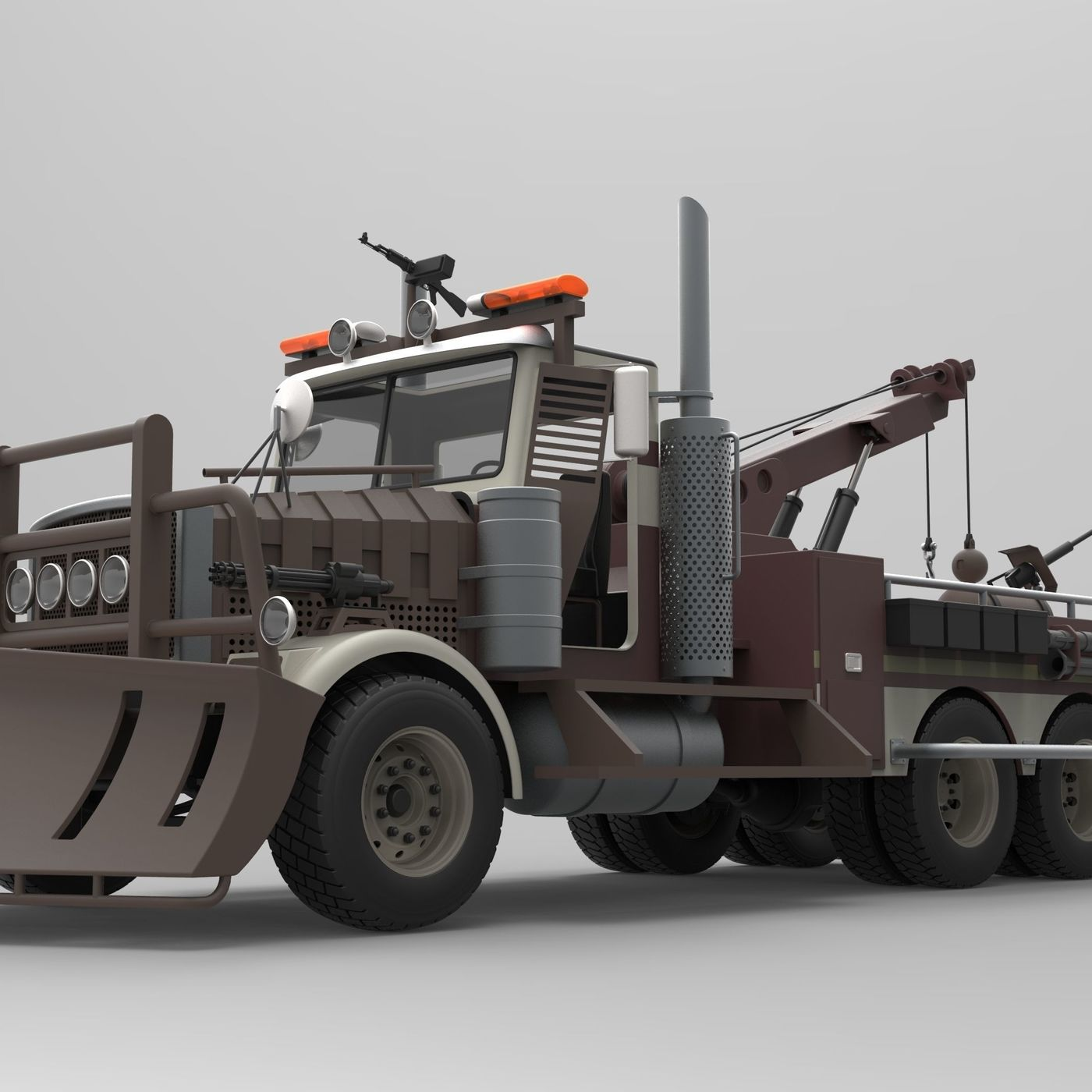 Towtruck from Terminator salvation