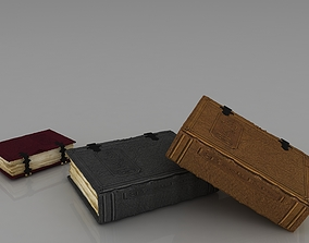 magazine old book 3D model