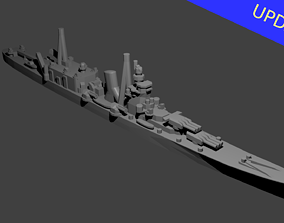 3D printable model Japanese Cruiser Oyodo Warship