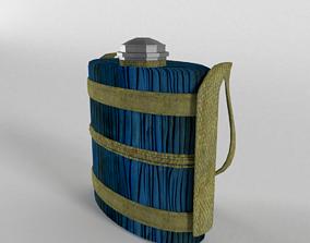 3D model Vintage Indic Water Bottle