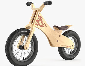 3D Early Rider Bicycle