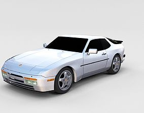 Porsche 944 Turbo S rev 3D model