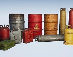 Explosive Props PBR 3D model