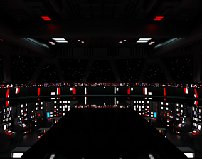 3D Imperial Star Destroyer Command Bridge