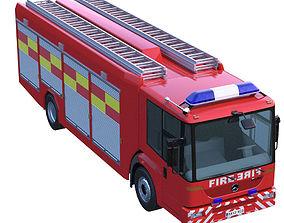 3D model Mercedes Econic Fire Truck