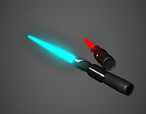military 3D model Lightsaber